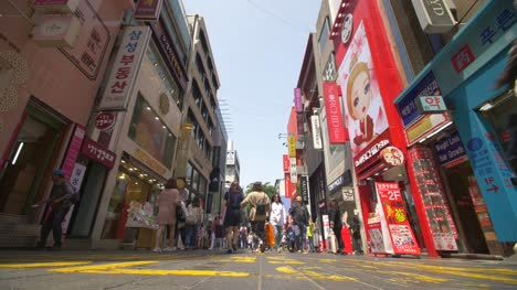 Myeong-Dong-Shopping-District