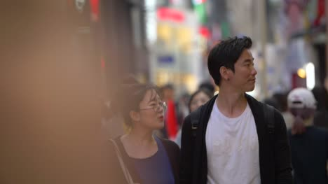 Couple-Walking-Through-Seoul