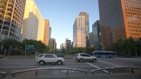 Seoul-Street-at-Sunrise
