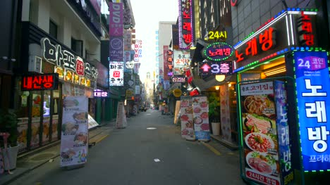 Myeong-Dong-in-the-Early-Morning