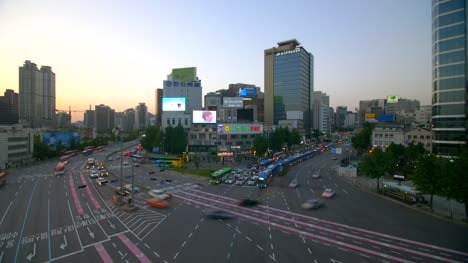 Busy-Seoul-Intersection-Time-Lapse