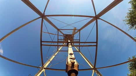 Looking-Up-Through-Wind-Pump-Frame
