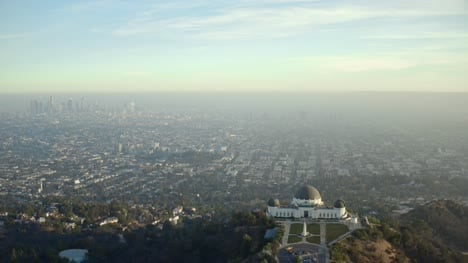 The-Griffith-Observatory-and-LA--City-Skyline
