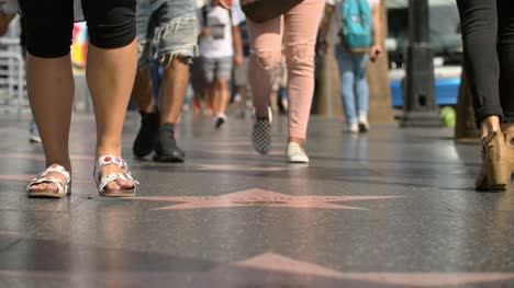 Crowds-on-Hollywood-Walk-of-Fame
