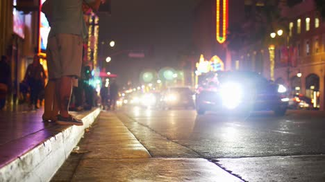 Hollywood-Street-at-Night