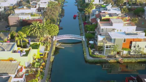 Aerial-View-of-Venice-Canals-LA