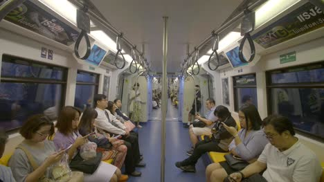 Bangkok-Metro-Train-Interior