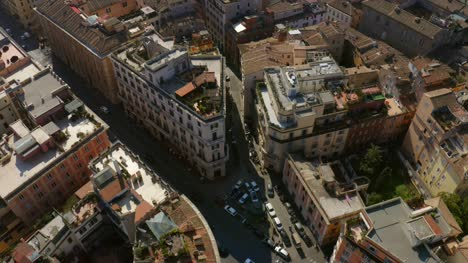 Flying-Over-Rooftop-Gardens-In-Rome