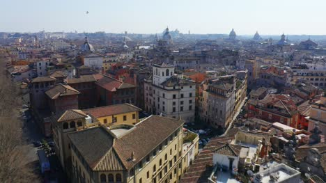 Flying-Over-Buildings-In-Rome