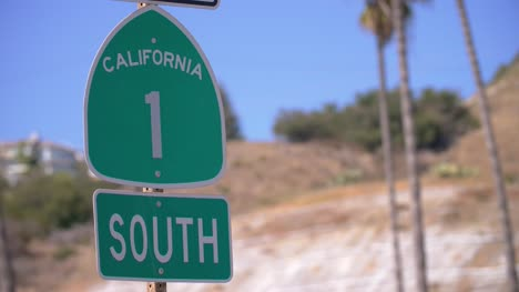 California-Highway-1-Sign