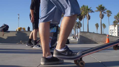 Skateboarder-Legs-and-Board-CU