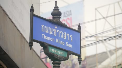 Street-Sign-for-Khao-San-Road