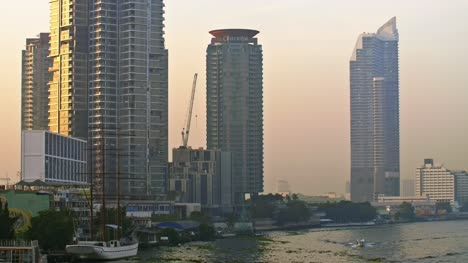 Waterfront-Skyscrapers-in-Bangkok