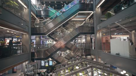 Escalators-in-Large-Shopping-Mall