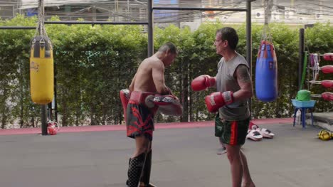 Muay-Thai-Boxers-Training
