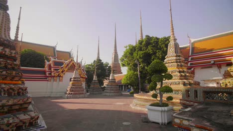 Stupas-at-Wat-Pho-Temple-Bangkok