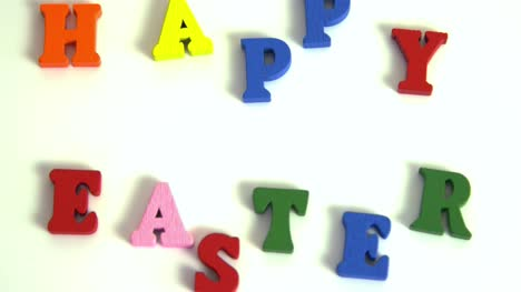 Letters-Spell-Out-HAPPY-EASTER-