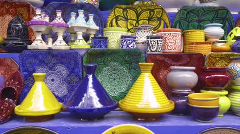 Tagines-and-Other-Moroccan-Pottery