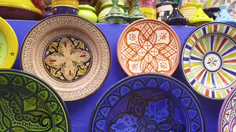 Moroccan-Ceramics-Display