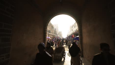 Walking-Through-Alley-to-Marketplace