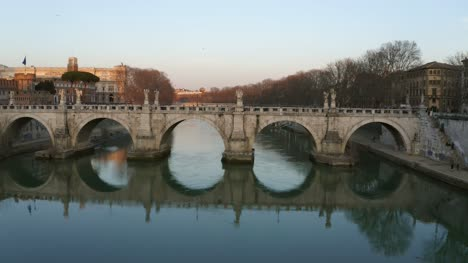 Dusk-At-St-Angelo-Bridge