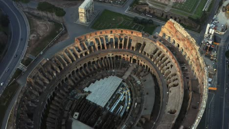 Looking-Down-Into-The-Colosseum