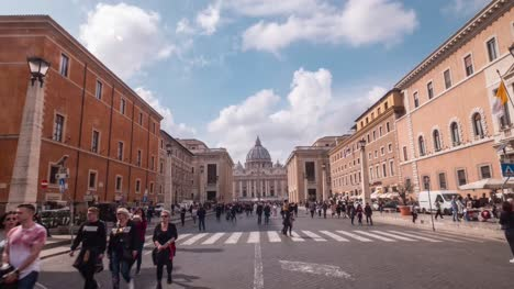 Hyper-Lapse-Towards-The-Vatican
