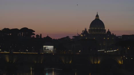 Dusk-To-Dark-At-St-Peters-Basilica