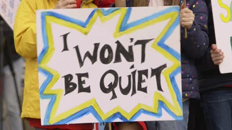 I-Won-t-Be-Quiet-Protest-Sign