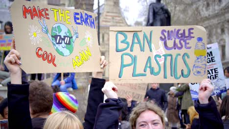 Climate-Change-and-Plastics-Protest-Signs