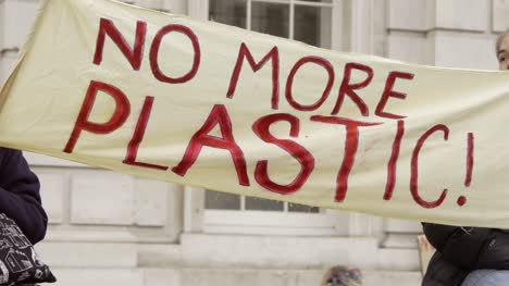 No-More-Plastic-Protest-Banner