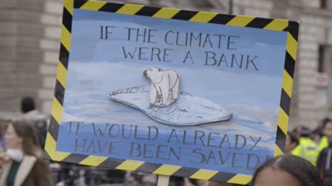 Climate-ChangeProtest-Sign-with-Polar-Bear