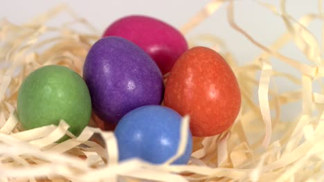 Colourful-Easter-Eggs-in-Nest-Rotating