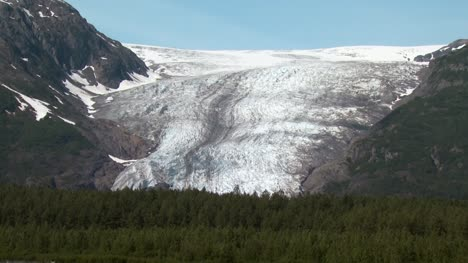 Alaskan-Glacier-and-Forest