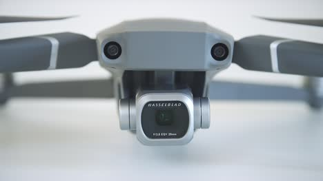 Close-Up-of-Drone-Camera