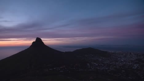 Sunset-Time-Lapse-At-Lions-Head