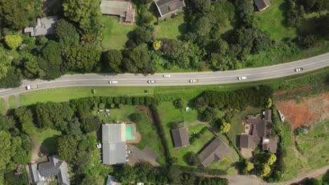 Aerial-View-Tracking-Cars