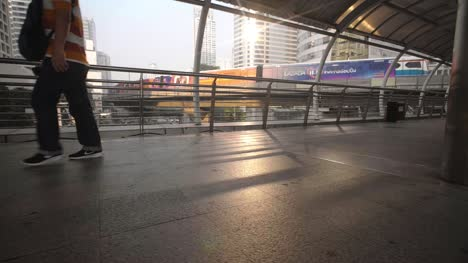 Pedestrians-on-Footbridge-Bangkok