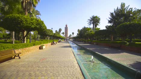 Koutoubia-Mosque-and-Fountain