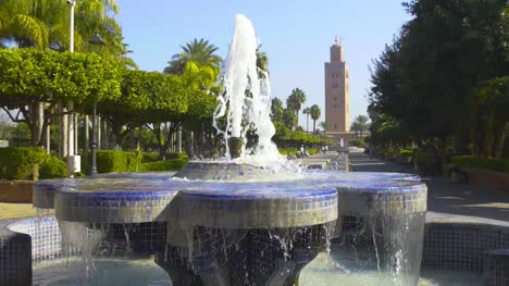 Fountain-at-Koutoubia-Mosque