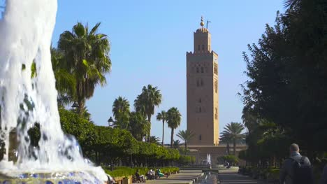 Water-Fountain-at-Koutoubia-Mosque