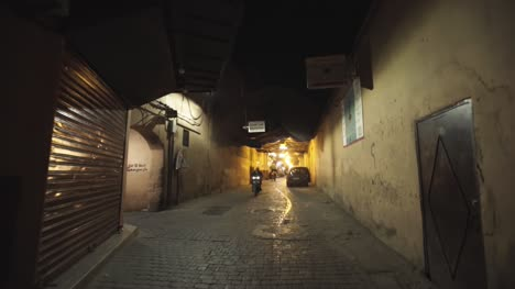 Moroccan-Street-at-Night