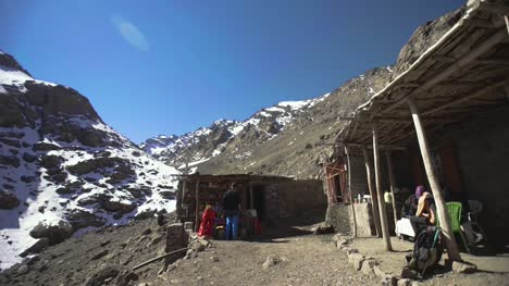 Hut-and-Terrace-in-Atlas-Mountains