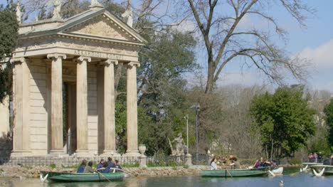 Rowing-Boats-At-Park-Villa-Borghese