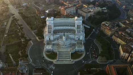 Flying-Towards-Altare-Della-Patria