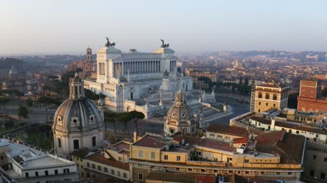 Flying-Around-Piazza-Venezia