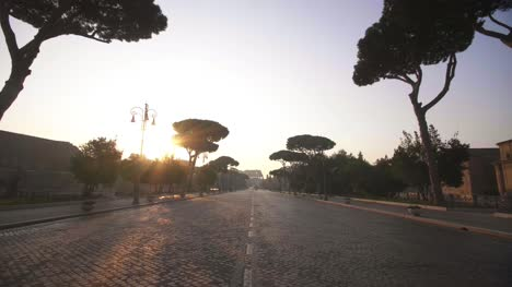 Via-Dei-Fori-Imperiali-At-Sunrise