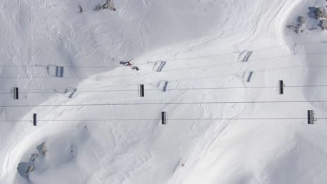 Chairlift-and-Ski-Slope-From-Above