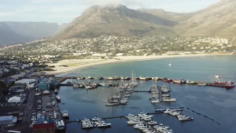 Aerial-View-Of-Hout-Bay