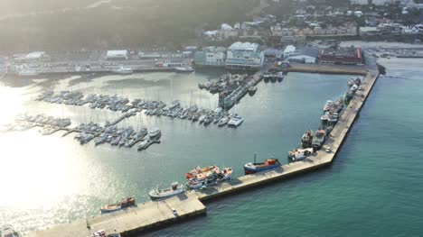 Aerial-View-Of-Hout-Bay-Harbour
